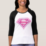 Logo rose de Supergirl T-shirt