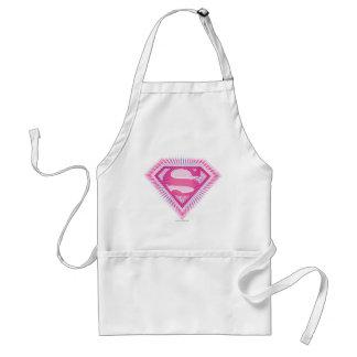 Logo rose de Supergirl Tablier