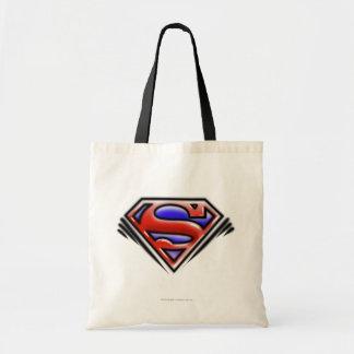 Logo rouge de Superman d'aerographe Sac En Toile Budget