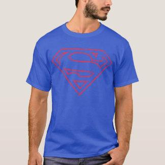Logo rouge d'ensemble du S-Bouclier   de Superman T-shirt