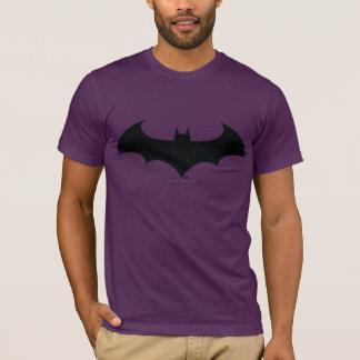 Logo simple de silhouette de batte du symbole | de t-shirt