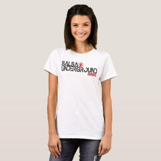 Logo souterrain 2 de femmes de T-shirt de Salsa