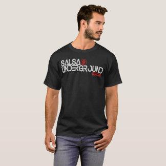 Logo souterrain 2 d'hommes de T-shirt de Salsa