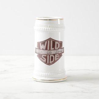 Logo Stein de bouclier de VWS Chope À Bière