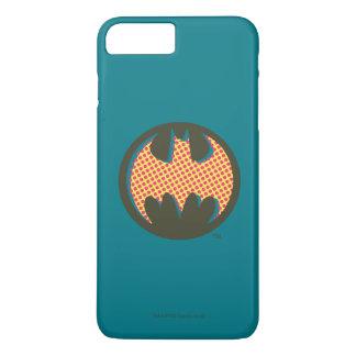 Logo tramé rouge du symbole | de Batman Coque iPhone 8 Plus/7 Plus