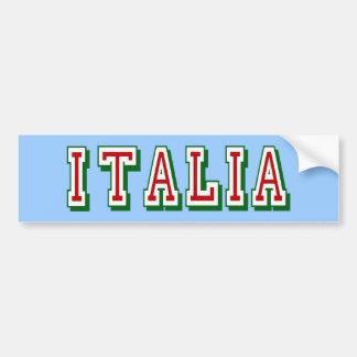 Logo très simple pourtant frais de l Italie de l I Adhésif Pour Voiture