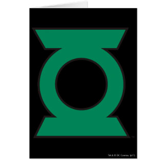Logo vert 15 de lanterne carte de vœux