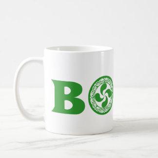 Logo vert élégant de Boise de basque (avec le Mug Blanc