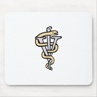Logo vétérinaire tapis de souris