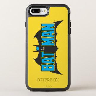 Logo vintage de noir bleu de Batman | Coque Otterbox Symmetry Pour iPhone 7 Plus