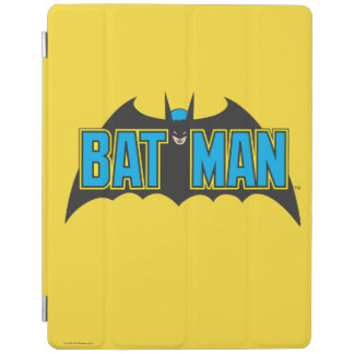 Logo vintage de noir bleu de Batman | Protection iPad