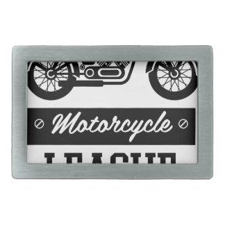 Logos de collections de moto boucle de ceinture rectangulaire