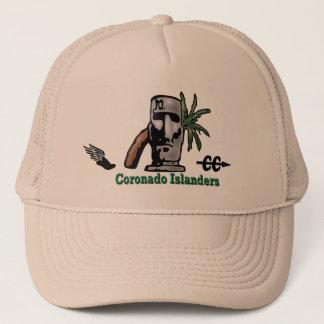 Logos d'insulaires de Coronado de casquette