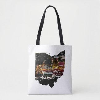 L'Ohio est maison…. Champ de foire de Lancaster en Tote Bag