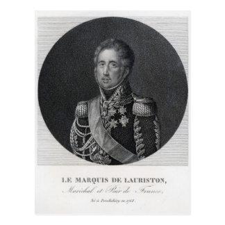 Loi de Jacques, Marquis de Lauriston Cartes Postales
