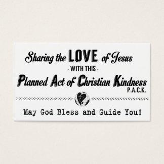 Loi prévue de carte chrétienne de la gentillesse