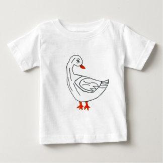 L'OIE AMOUREUSE.jpg T-shirt Pour Bébé