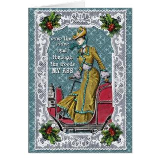 Loin à Noël Carte De Vœux