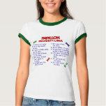 Lois 2 de propriété de PAPILLON T-shirts