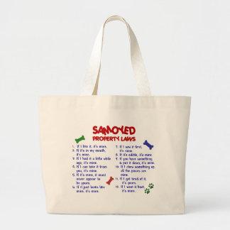 Lois 2 de propriété de SAMOYED Grand Sac