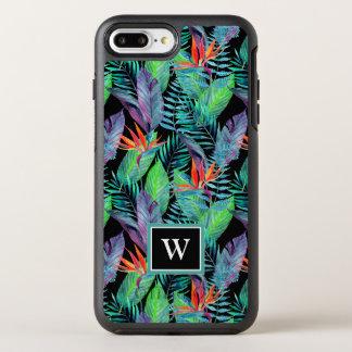 L'oiseau d'aquarelle du paradis | ajoutent votre coque OtterBox symmetry iPhone 8 plus/7 plus
