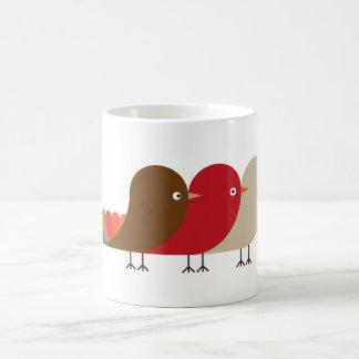 L'oiseau rouge mug