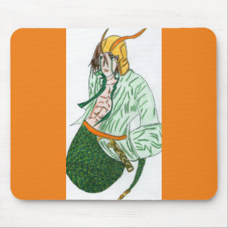 Loki, le dieu viking tapis de souris
