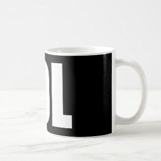 LOL (foncé) Mug Blanc