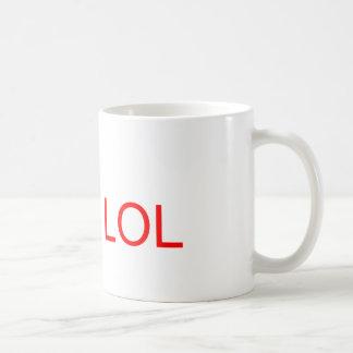 LOL - meme Mug Blanc