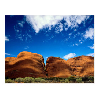 L'Olgas, parc national d'Uluru, territoire du nord Carte Postale