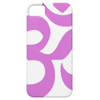 L'OM ou le symbole d'Aum (pourpre d'Orchird) Étuis iPhone 5