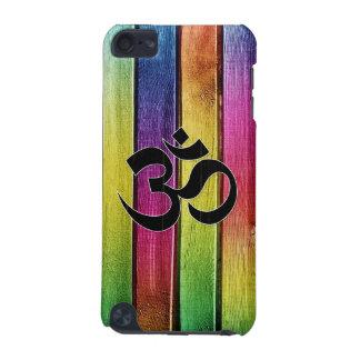 L'OM se connectent le bois multicolore Coque iPod Touch 5G