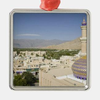 L'Oman, montagnes occidentales de Hajar, Nizwa. Ornement Carré Argenté