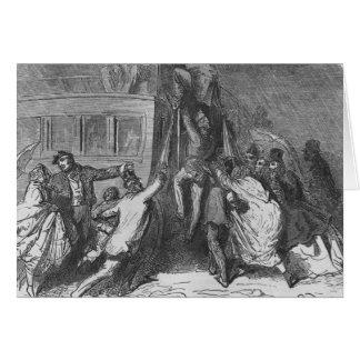 L'omnibus de bastille carte de vœux