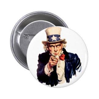 L'Oncle Sam vous veut ! Pin's