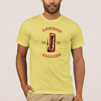 Londres appelle t-shirt