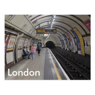 Londres au fond - carte postale
