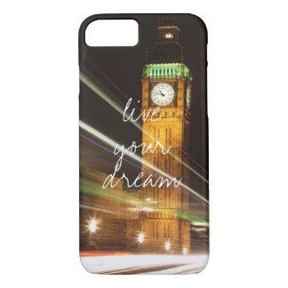 Londres Big Ben vivent votre voyage rêveur d'envie Coque iPhone 7