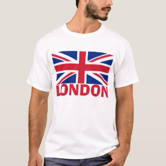 Londres en rouge t-shirt