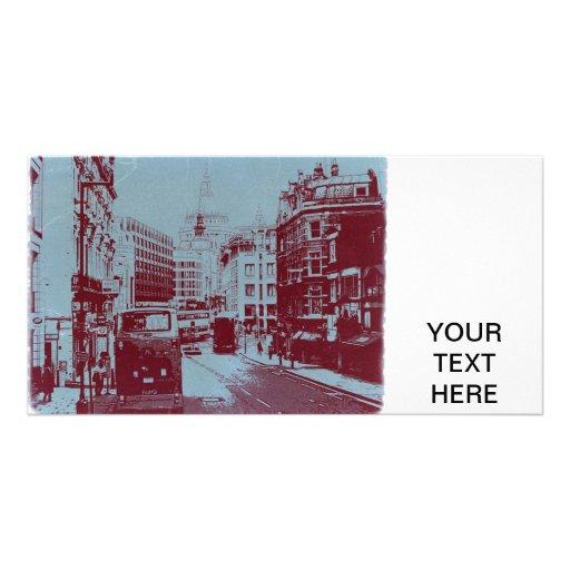 Londres Fleet Street Cartes Avec Photo