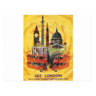 Londres vintage carte postale