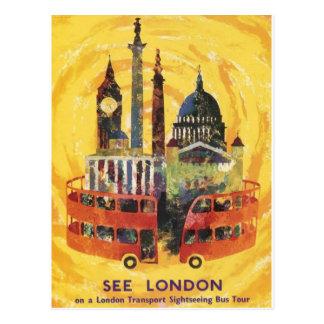Londres vintage cartes postales