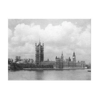 Londres vintage, Chambres du Parlement 1904 Toiles