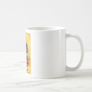 Londres vintage mug blanc