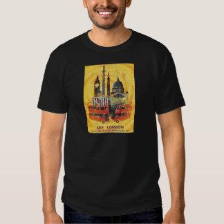 Londres vintage t-shirts
