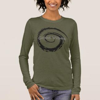 Long T-shirt de douille de bon vibraphone