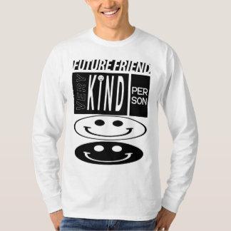 long T-shirt de douille de futur ami