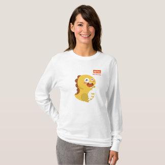 Long T-shirt de douille de VIPKID pour le