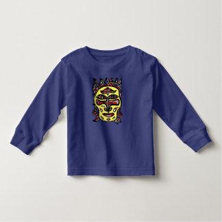 Long T-shirt de douille d'enfant en bas âge