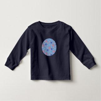 Long T-shirt de douille d'enfant en bas âge avec